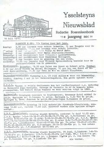 Ysselsteyns Nieuwsblad 1975-07-18