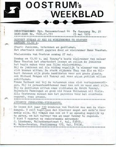 Oostrum's Weekblad 1979-05-23