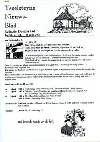 Ysselsteyns Nieuwsblad 2001-06-15