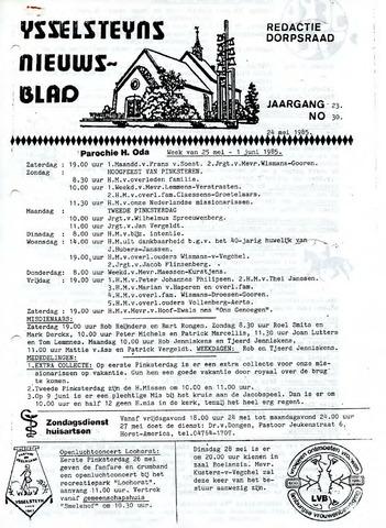 Ysselsteyns Nieuwsblad 1985-05-24
