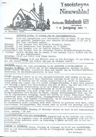 Ysselsteyns Nieuwsblad 1978-02-24