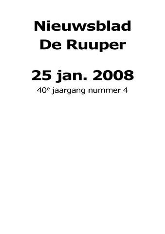 Dorpsblad Leunen-Veulen-Heide 2008-01-25