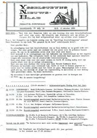 Ysselsteyns Nieuwsblad 1990-10-12