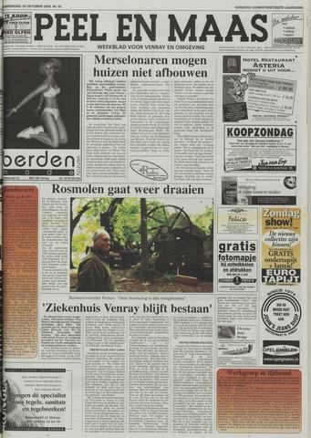 Peel en Maas 2000-10-19
