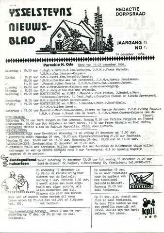 Ysselsteyns Nieuwsblad 1984-12-14