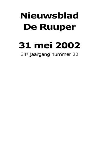 Dorpsblad Leunen-Veulen-Heide 2002-05-31