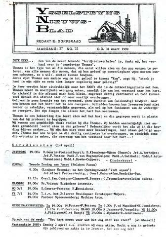 Ysselsteyns Nieuwsblad 1989-03-31