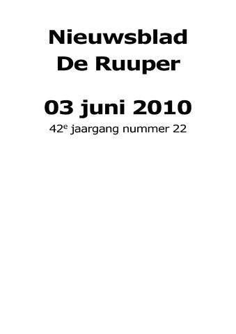 Dorpsblad Leunen-Veulen-Heide 2010-06-03