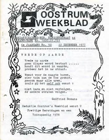Oostrum's Weekblad 1977-12-22