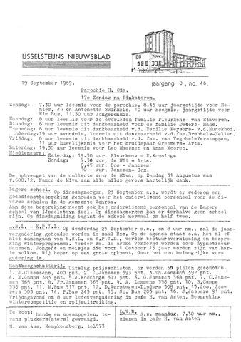 Ysselsteyns Nieuwsblad 1969-09-19