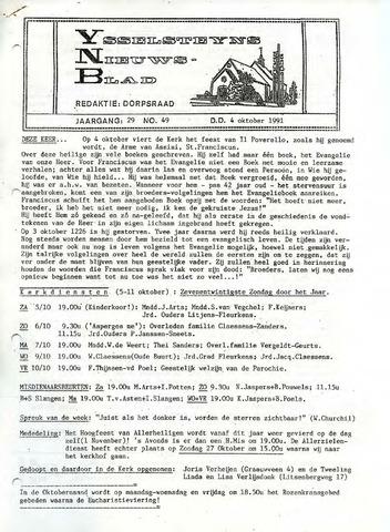 Ysselsteyns Nieuwsblad 1991-10-04