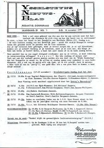 Ysselsteyns Nieuwsblad 1990-11-16
