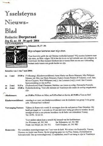 Ysselsteyns Nieuwsblad 2004-04-30