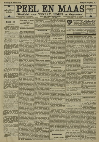 Peel en Maas 1939-01-28