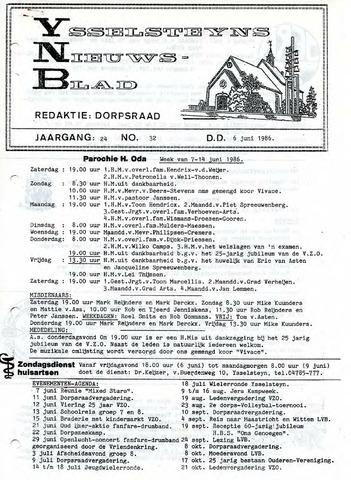 Ysselsteyns Nieuwsblad 1986-06-06