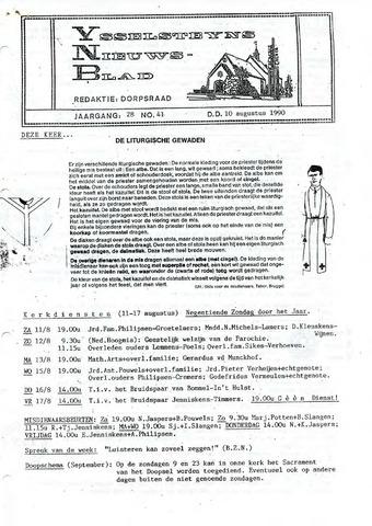 Ysselsteyns Nieuwsblad 1990-08-10
