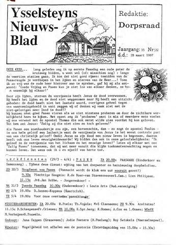 Ysselsteyns Nieuwsblad 1997-03-28