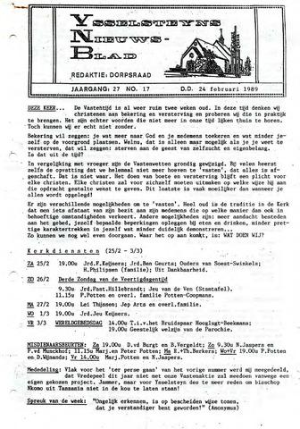 Ysselsteyns Nieuwsblad 1989-02-24