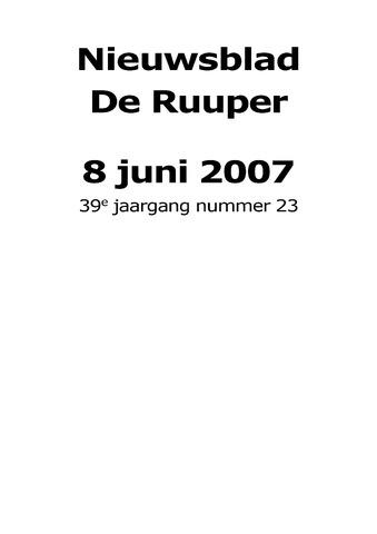Dorpsblad Leunen-Veulen-Heide 2007-06-08