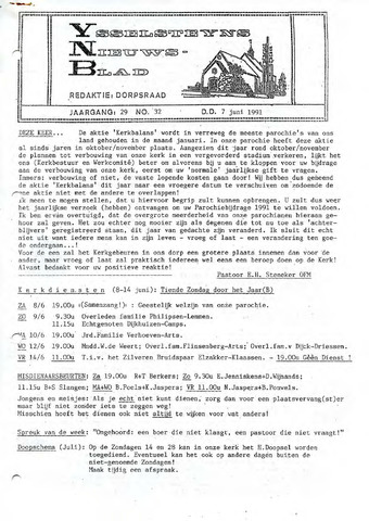 Ysselsteyns Nieuwsblad 1991-06-07