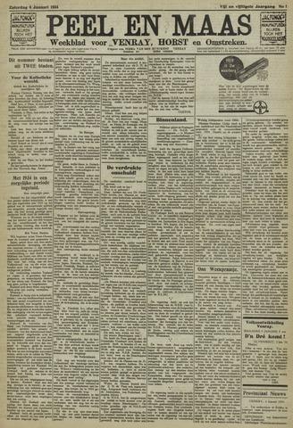 Peel en Maas 1934-01-06