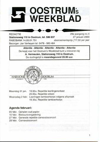 Oostrum's Weekblad 2000-01-27