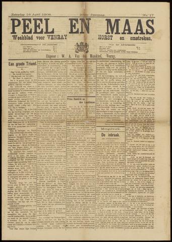 Peel en Maas 1908-04-18