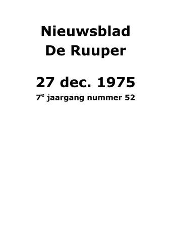 Dorpsblad Leunen-Veulen-Heide 1975-12-27