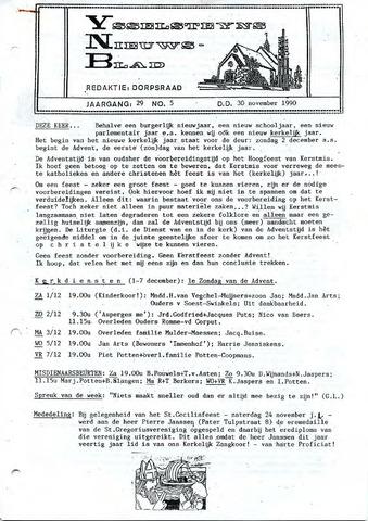 Ysselsteyns Nieuwsblad 1990-11-30