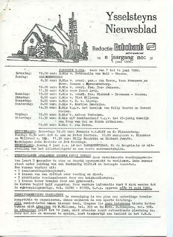 Ysselsteyns Nieuwsblad 1980-06-06