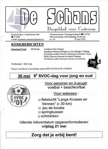 Castenrays dorpsblad De Schans 2010-05-19