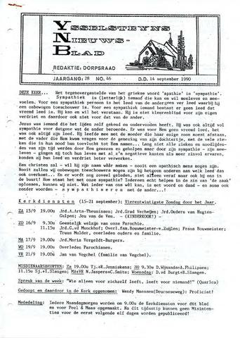 Ysselsteyns Nieuwsblad 1990-09-14