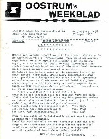 Oostrum's Weekblad 1975-09-25