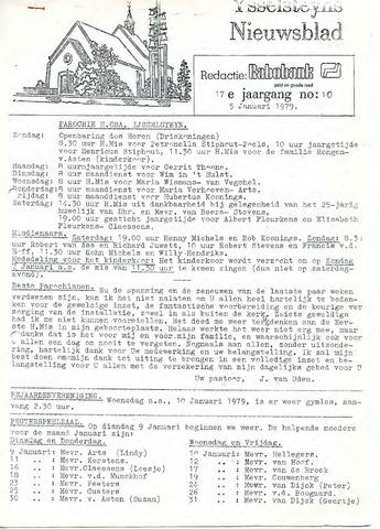 Ysselsteyns Nieuwsblad 1979-01-05