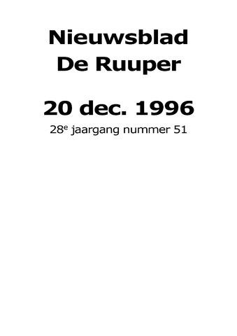 Dorpsblad Leunen-Veulen-Heide 1996-12-20