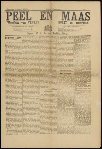 Peel en Maas 1908-04-04