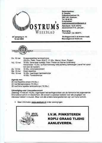 Oostrum's Weekblad 2005-05-12