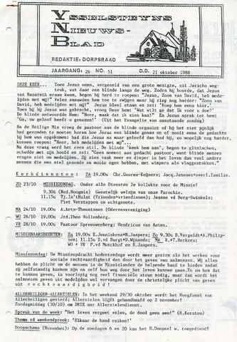 Ysselsteyns Nieuwsblad 1988-10-21
