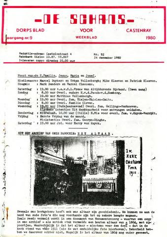 Castenrays dorpsblad De Schans 1980-12-24