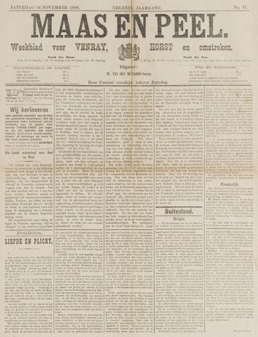 Peel en Maas 1888-11-24