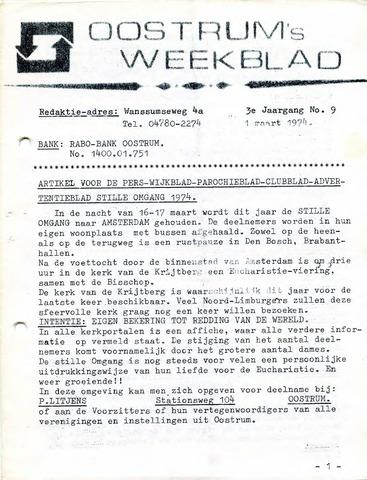 Oostrum's Weekblad 1974-03-01