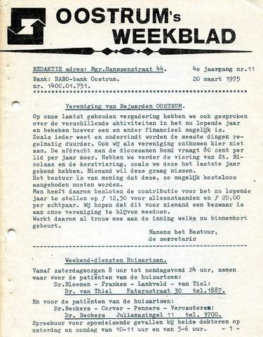 Oostrum's Weekblad 1975-03-20