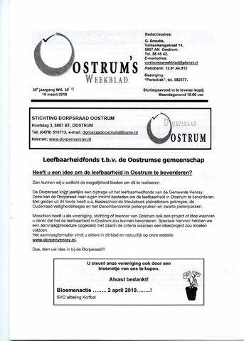 Oostrum's Weekblad 2010-03-18