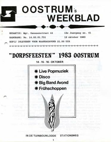 Oostrum's Weekblad 1983-10-13