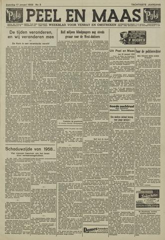 Peel en Maas 1959-01-17