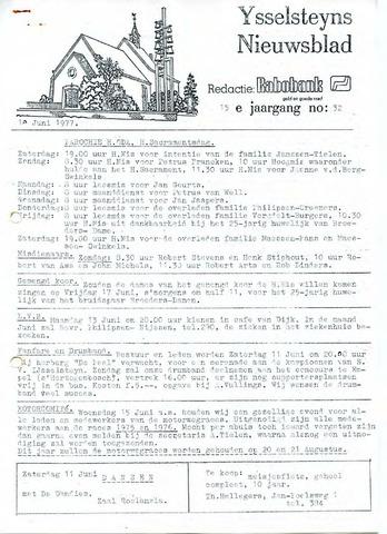 Ysselsteyns Nieuwsblad 1977-06-10