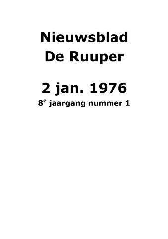 Dorpsblad Leunen-Veulen-Heide 1976