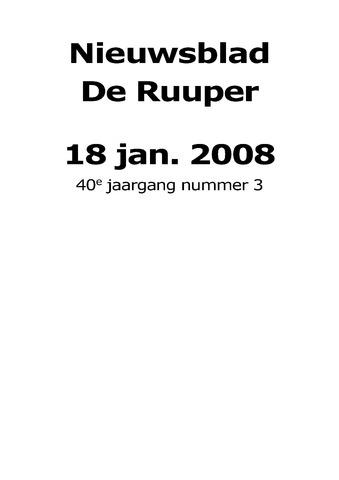 Dorpsblad Leunen-Veulen-Heide 2008-01-18