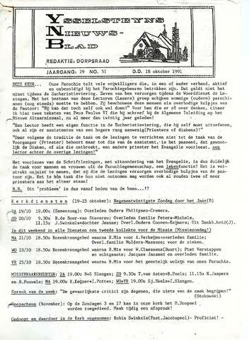 Ysselsteyns Nieuwsblad 1991-10-18