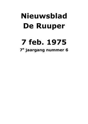 Dorpsblad Leunen-Veulen-Heide 1975-02-07